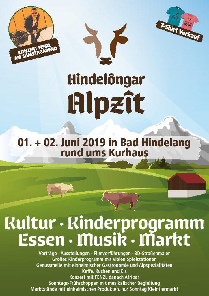 Plakat Alpzît 2019